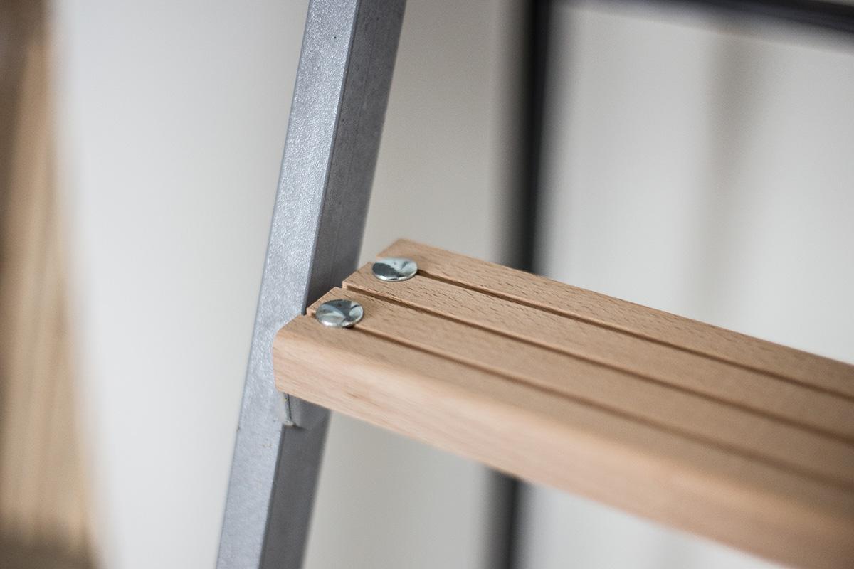 Чердачная лестница 100×90 Metal 4s высота 270см